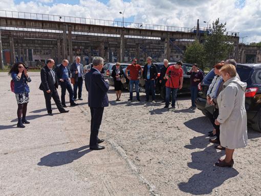 Jurbarke įvyko susitikimas dėl statybininkų gatvės žiedo techninių sprendimų