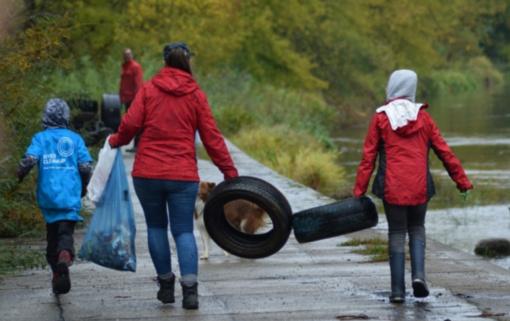 Šį savaitgalį visas pasaulis švarins užterštas upes
