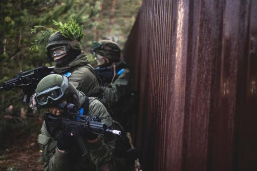 Batakių seniūnijos teritorijoje vyks lauko taktikos pratybos