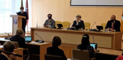 Atnaujinus veiklą savivaldybės administracijoje, Tarybos posėdis vyko gyvai