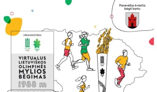 Panevėžiečiai kviečiami dalyvauti virtualiame olimpinės mylios bėgime