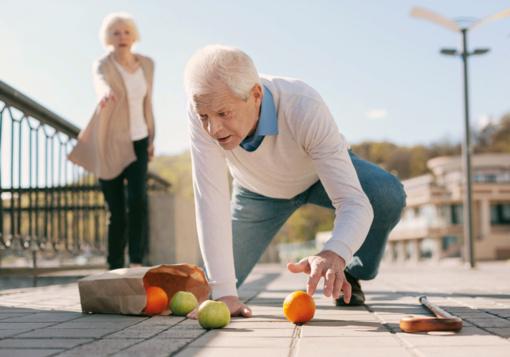 Vyresnio amžiaus asmenų traumos ir jų prevencija