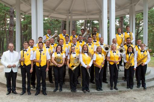 Palangos Birutės parką vėl nuspalvins pučiamųjų orkestro melodijos