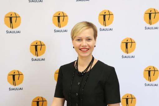 Miesto koordinavimo skyriaus vadovės pareigas pradėjo eiti Rigita Tijūnaitienė