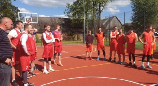 Aukštelkų sporto aikštyno atidarymo proga – krepšinio ir teniso turnyrai