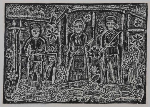 Tautodailės metams skirtoje parodoje – grafika ir keramika