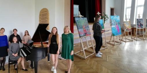 Pagėgių savivaldybės meno ir sporto mokyklą baigė aštuoni absolventai
