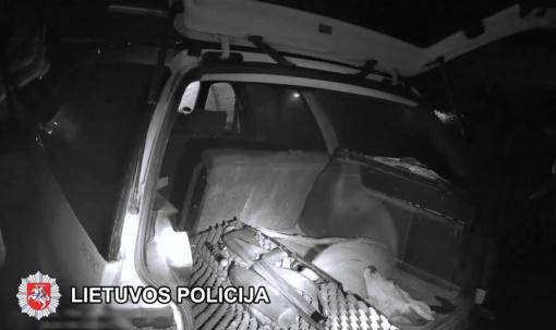 Trakų rajono policijai įkliuvo brakonieriai (vaizdo įrašas)