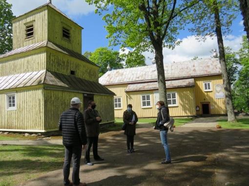 Medinė garsiojo Ilguvos dvaro bažnyčia bus išsaugota
