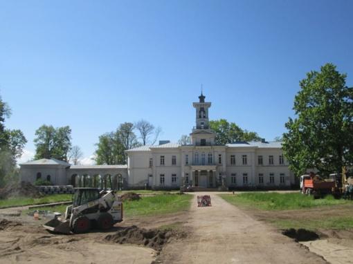 Atgyja Tiškevičių įkurtas Astravo dvaro parkas