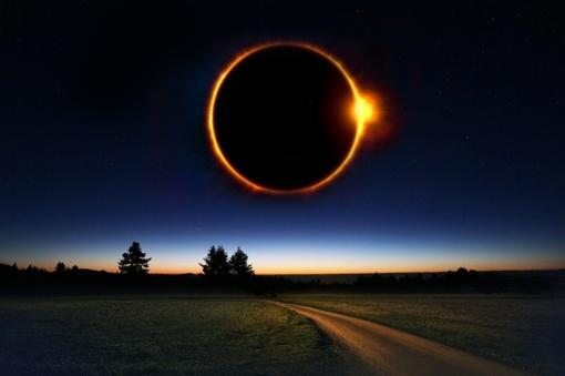 Vyko žiedinis Saulės užtemimas