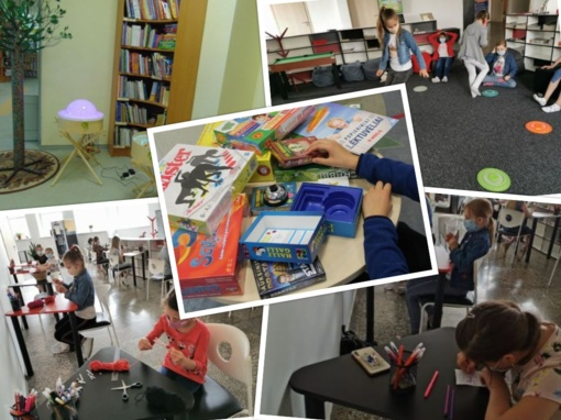 Šiaulių miesto savivaldybės viešoji biblioteka pradėjo vaikų vasaros užimtumo veiklas
