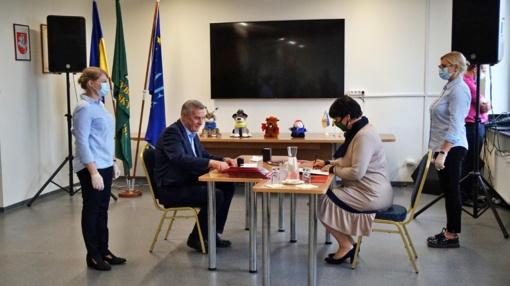 ŠPRC Prekybos ir verslo skyriuje pasirašytos naujos bendradarbiavimo sutartys