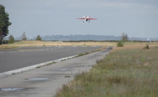 Neringa siekia atgaivinti aerodromą