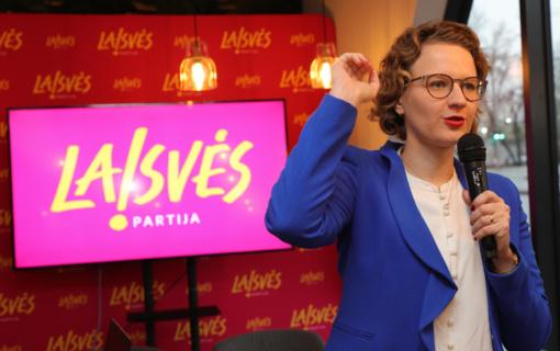 Laisvės partija patvirtino kandidatų į Seimą sąrašą ir programą