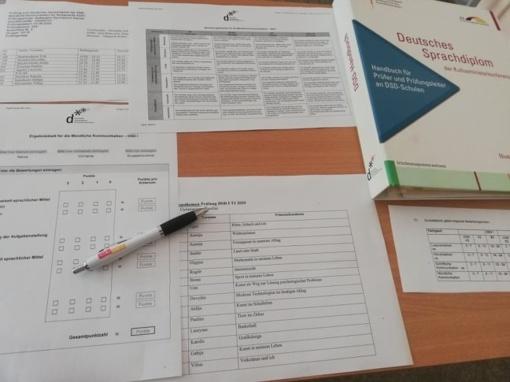 Stasio Šalkauskio gimnazijoje mokiniai laikė tarptautinį vokiečių kalbos egzaminą