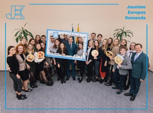 Anykštėnai kviečiami dalyvauti Jaunimo Europos komandos narių atrankoje