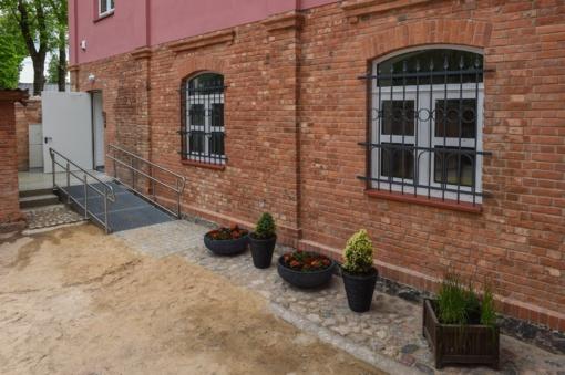 Panevėžyje sutvarkyti bajorų Moigių namai