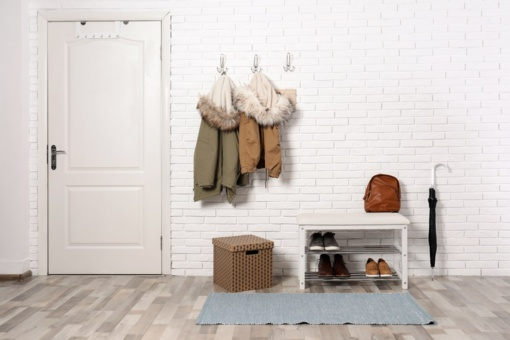 Kaip patogiai įsirengti prieškambarį?