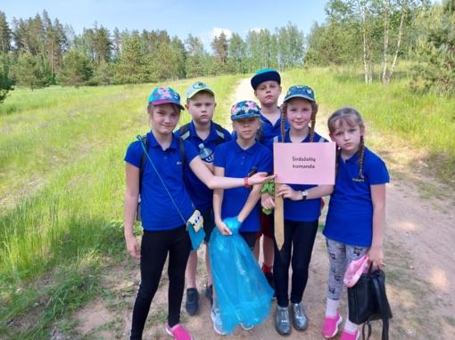 """""""Verdenės"""" gimnazijos mokiniai dalyvavo ekspedicijoje """"Tauragnų žolynai"""""""