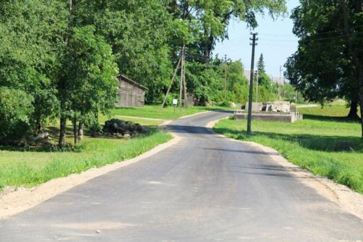 K. Podolskis: darbai nesustoja ir kaimiškosiose seniūnijose