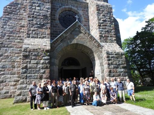 Ignaliniečiai aplankė Salako bažnyčią