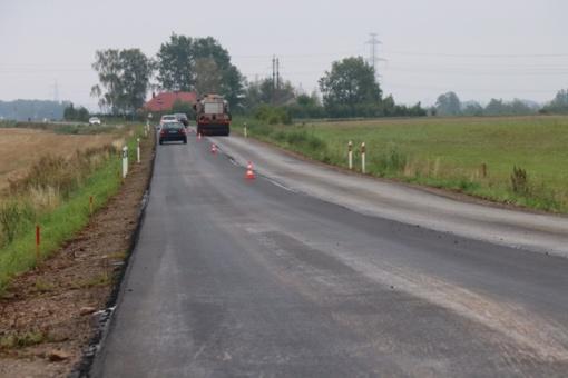 Alytaus rajono teritorijoje – dideli valstybinių kelių remontai