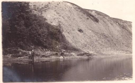 Senų nuotraukų sakmės. Ledynų suvenyras Raudonskardis