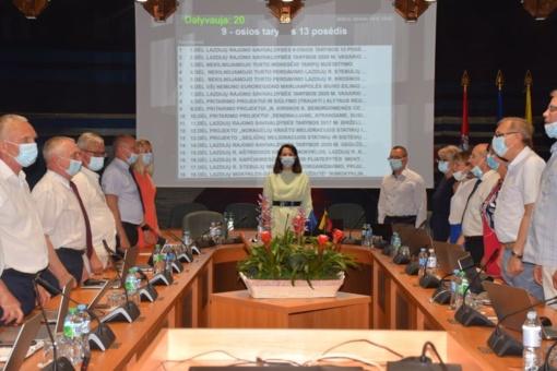 Tarybos sprendimai – dėl biudžeto pakeitimo, pritarimo projektams, paramos nukentėjusiems dėl COVID-19