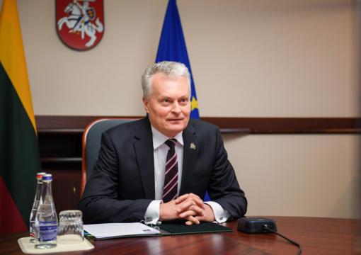 G. Nausėda su Lenkijos vadovu aptarė regiono saugumo klausimus