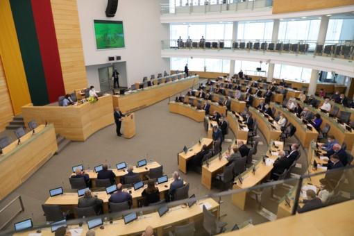 Seimas po svarstymo pritarė siūlymui steigti Valstybinį plėtros banką