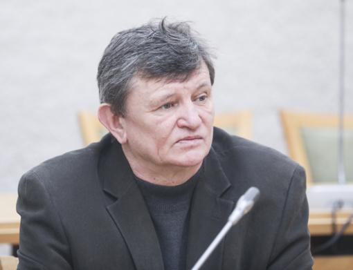 Parlamentaras S. Jovaiša – Anykščių rajono garbės pilietis