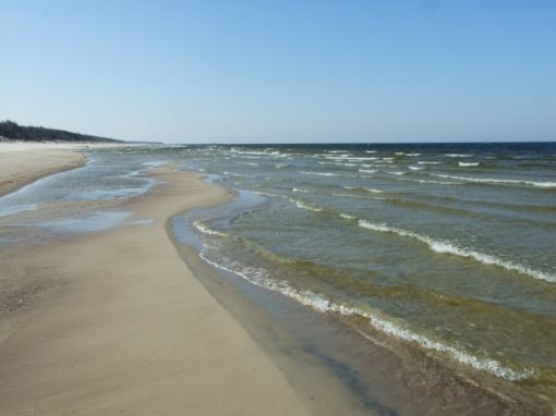Draudžiama maudytis Baltijos jūroje ties Smiltyne