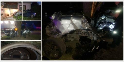Nuo policijos bėgusio ukrainiečio sukeltoje avarijoje Kėdainių rajone žuvo du žmonės