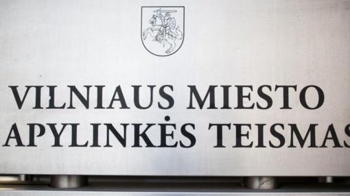 Neblaivus vyras įsibrovė į Vilniaus apylinkės teismą