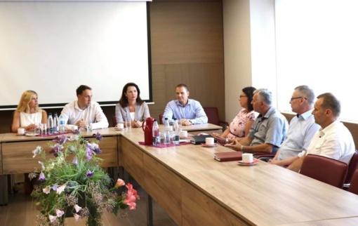 Lazdijų rajono ir Alytaus miesto savivaldybių bendradarbiavimas sveikatos priežiūros srityje įgauna pagreitį