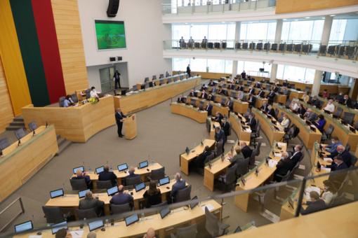 Seimas ketina užbaigti pandemijos pakoreguotą pavasario sesiją