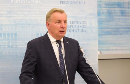 Seime prisiekė ekonomikos ir inovacijų ministras R. Sinkevičius