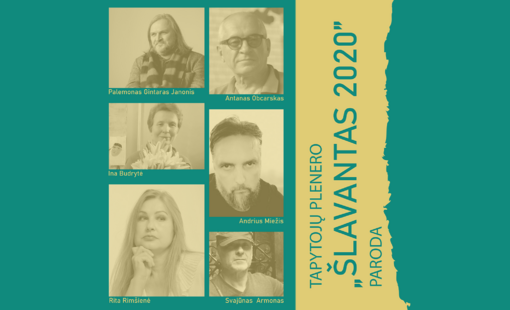 """Druskininkuose – tapytojų plenero """"Šlavantas 2020"""" parodos atidarymas"""