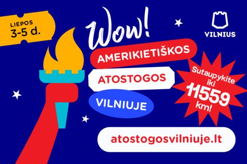 Vilniaus Rotušės aikštėje šeštadienį įsikurs Holivudas