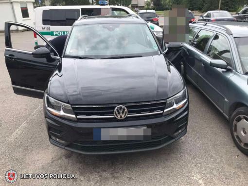 Marijampolės policija surado automobilį, kuriam paieška prieš porą valandų buvo paskelbta Vokietijoje