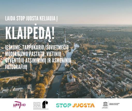 """Laida """"Stop juosta"""" modernizmo ieškos Klaipėdoje"""