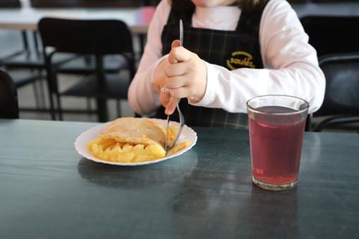 Mokyklose priešmokyklinukai ir pirmokai bus maitinami nemokamai