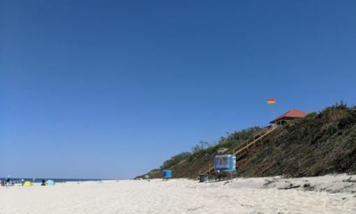 Baltijos jūros vanduo ties Neringos paplūdimiais – švarus