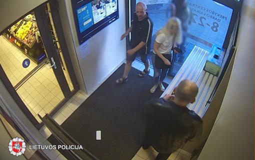 Policija prašo atpažinti alkoholinių gėrimų pavogusį panevėžietį