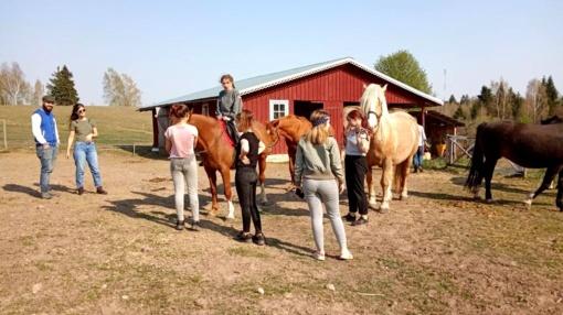 Širvintų rajone jaunimas kuria erdvę savęs ir gamtos pažinimui