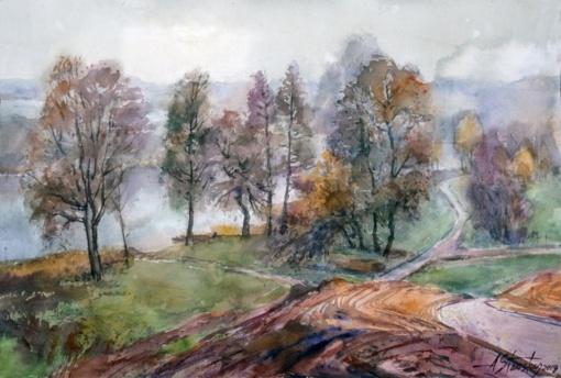 Alvydo Stausko kūrybos darbų paroda Zarasų krašto muziejuje
