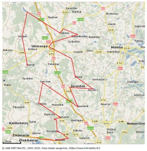 Per tris savivaldybes besidriekiančiame dviračių turizmo maršrute atsiras informaciniai ženklai ir stendai