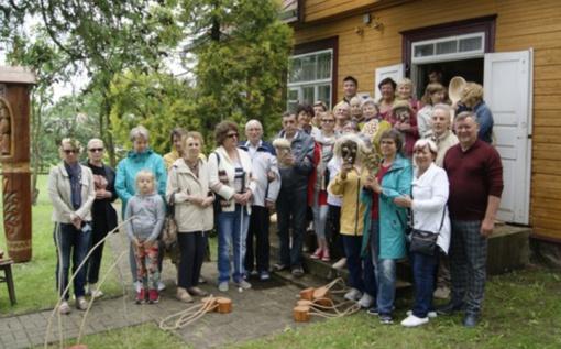 Aklieji ir silpnaregiai keliavo po Radviliškio rajoną