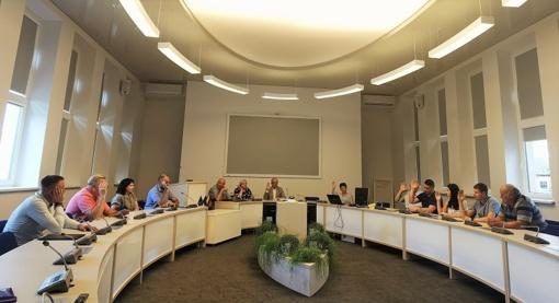 Tarybos narių pasitarimas dėl sporto finansavimo